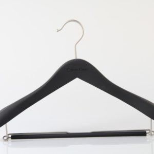 Wooden Hanger for Suit with Drop bar