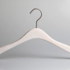 Washed White Wooden Hanger