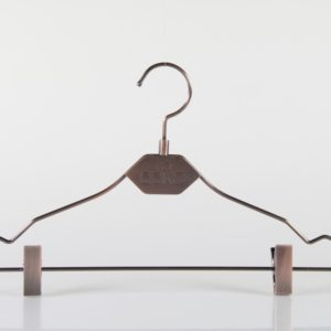 Metal Hanger with Clips for Pants